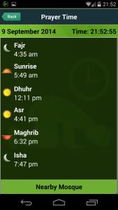 hajj umrah prayer time